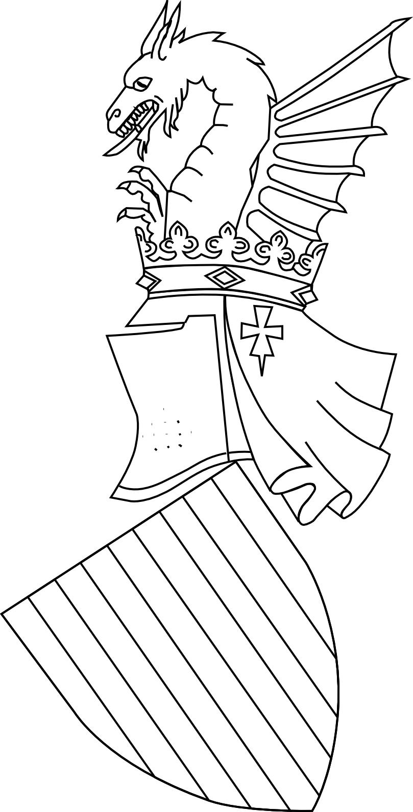 Dibujos para colorear de Jaume I y el 9 de octubre | 9 d\'Octubre ...