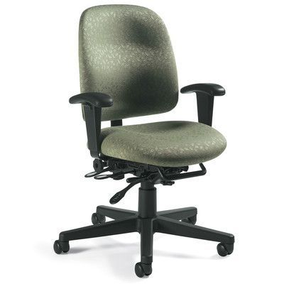Office Chair Upholstery Repair Chairscape Global Total Granada Task Products Desk Imagerie Hunter Green