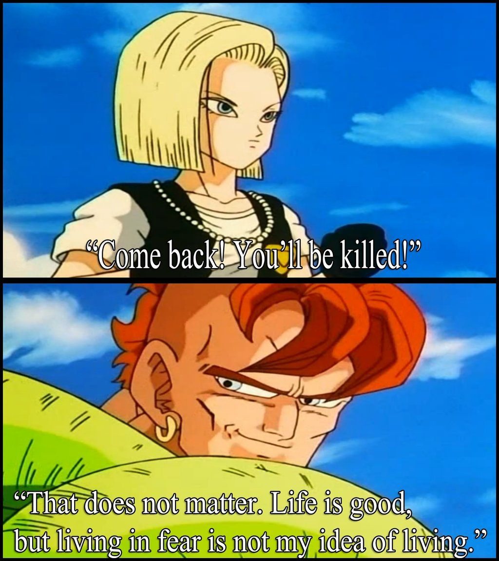 Dragonball Z Quote