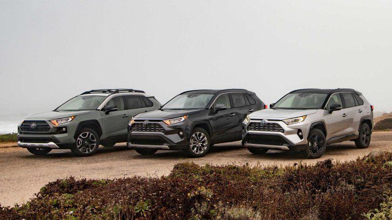 2019 Toyota RAV4 Reviews Toyota rav4, Toyota, Rav4