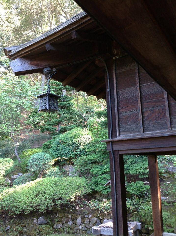 Tea House At Hakone Gardens Saratoga Ca Tea House House Styles Green