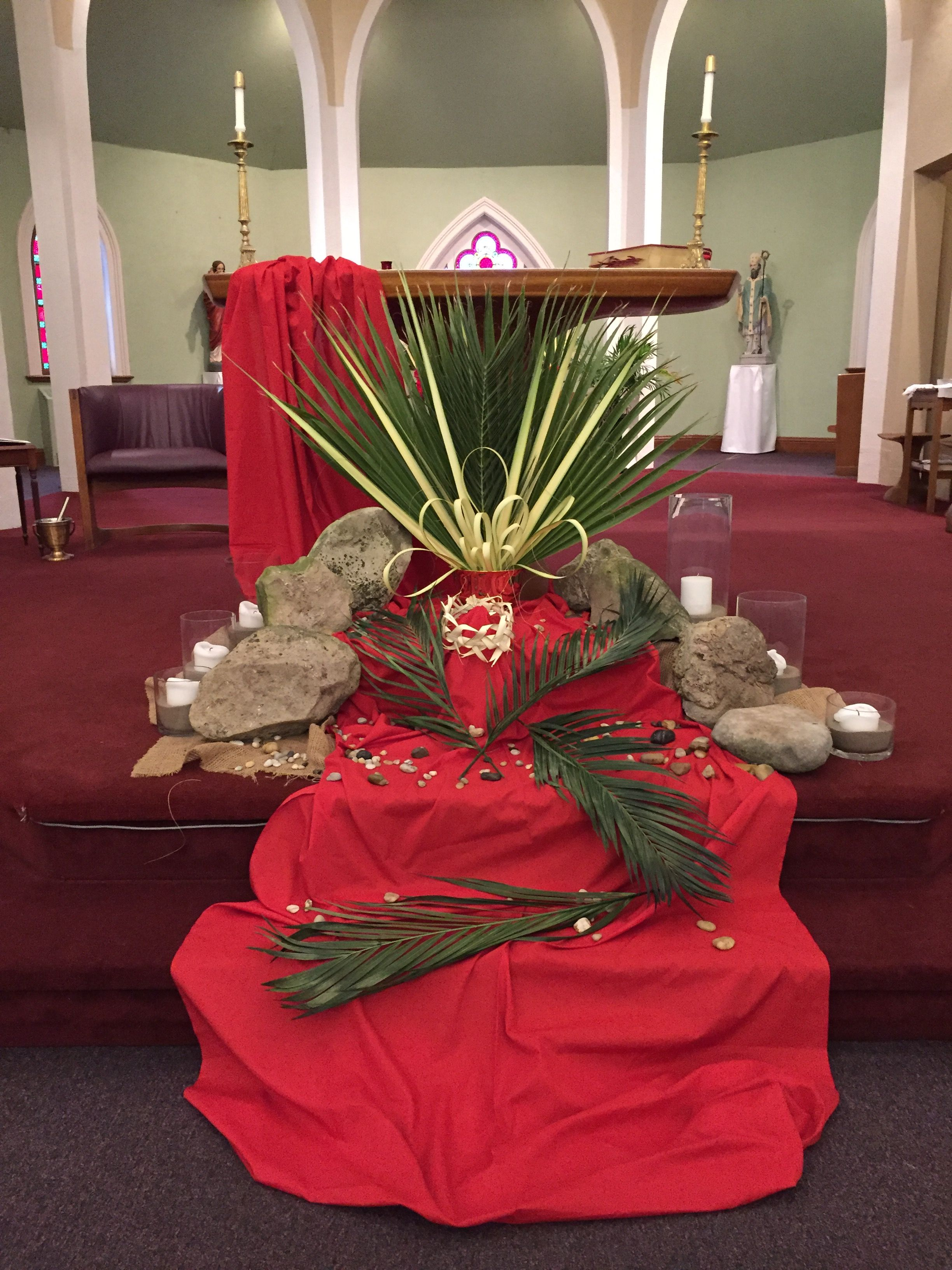 Palm Sunday 2017 Palm Sunday Decorations Church Easter Decorations Church Altar Decorations