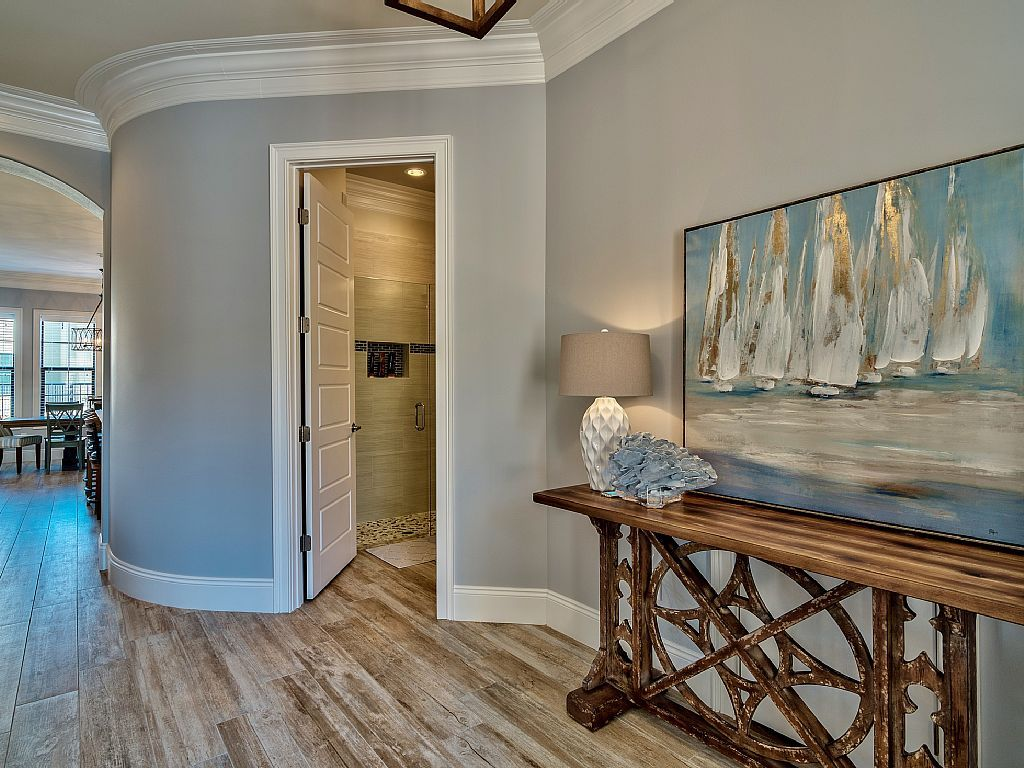 image result for behr planetary silver foyer paint