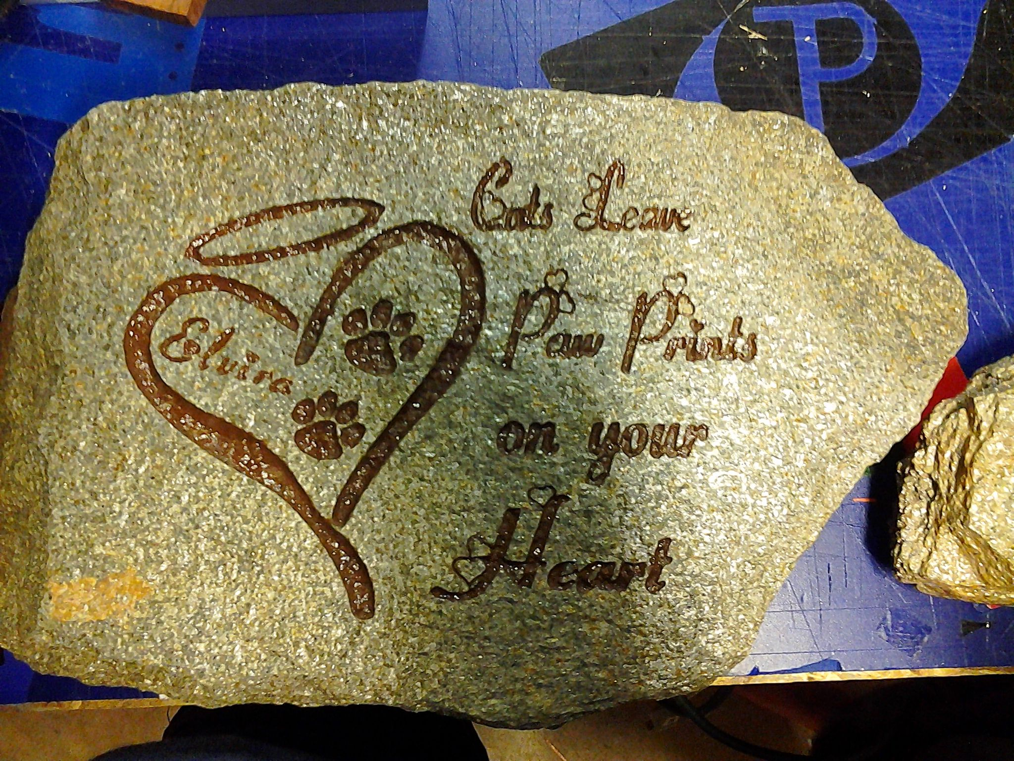 Pet Memorial Stone, Pet memorial engraved stones | Milestone ...