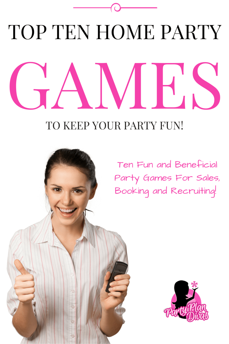 Fun Home Party Plan Games for Direct Sales   Plan games, Party fun ...