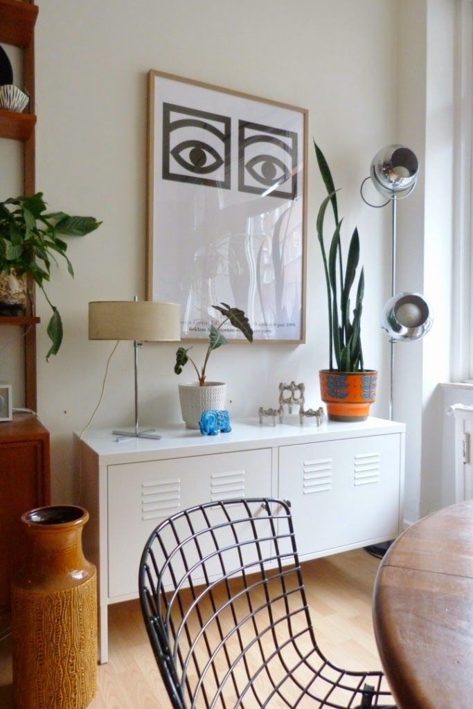 Artesanato Com Cd E Croche ~ Aparador Ikea blanco Deco Pinterest Aparadores, Ikea y Blanco