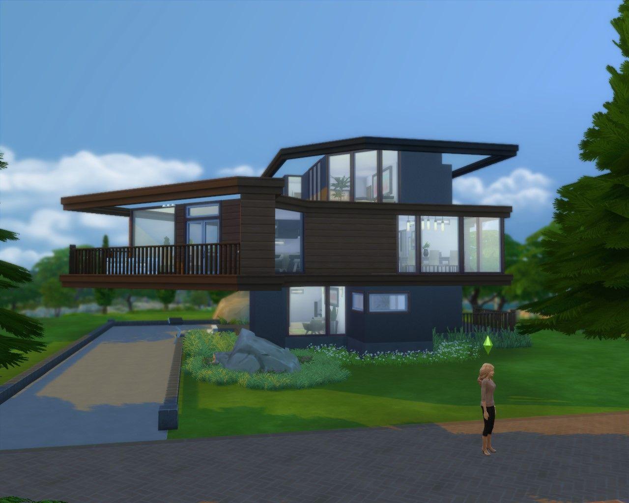 Cullen House Sims House House Styles