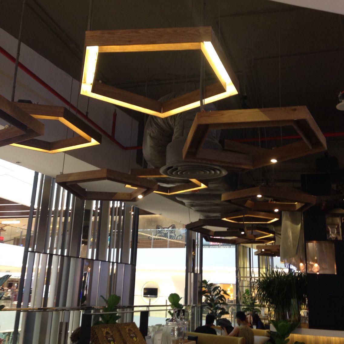 37 Street Restaurant In Saigon Center Vietnam Ceiling Design