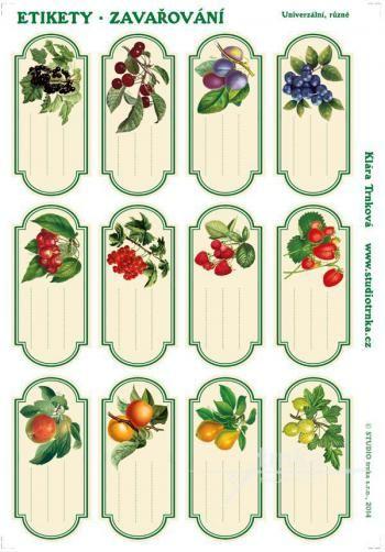 les tiquettes 4 universelle conservation tiquettes imprimables pinterest. Black Bedroom Furniture Sets. Home Design Ideas