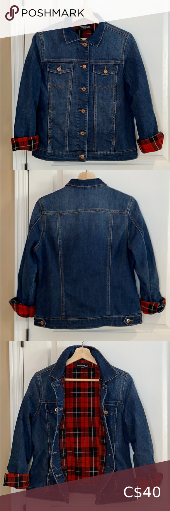 Nwot Parasuco Jeans Insulated Jean Jacket Insulated Jeans Parasuco Jeans Jean Jacket [ 1740 x 580 Pixel ]