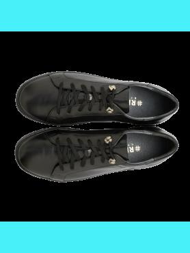Polbuty Damskie Rylko Producent Obuwia All Black Sneakers Shoes Sneakers