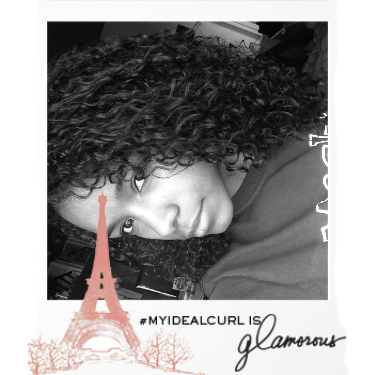 These are my ideal curls, filtered with the Kérastase Paris touch. Create and share yours now. #MyIdealCurl @influenster