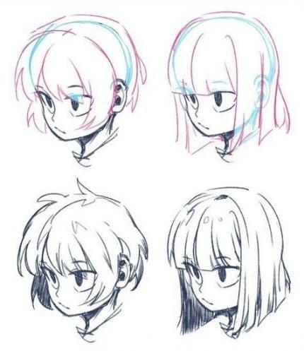 Drawing Hair Male Silver Hair Highlights Male Step Trendy 17 Trendy Hair In 2020 Drawings Art Reference Manga Hair