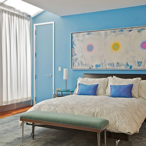 Rocky Mountain Sky Blue Paint Design Ideas Pictures Remodel And