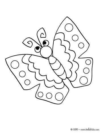 Kawaii Butterfly Coloring Pages Kawaii Butterfly To Color In
