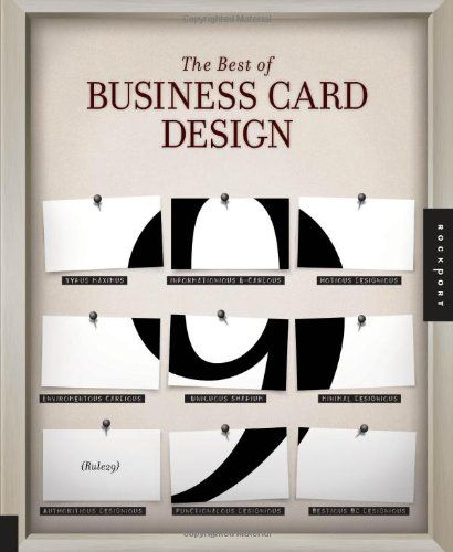 Business card design tips