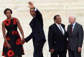 President and 1st Lady - March on Washington 08.28.2013