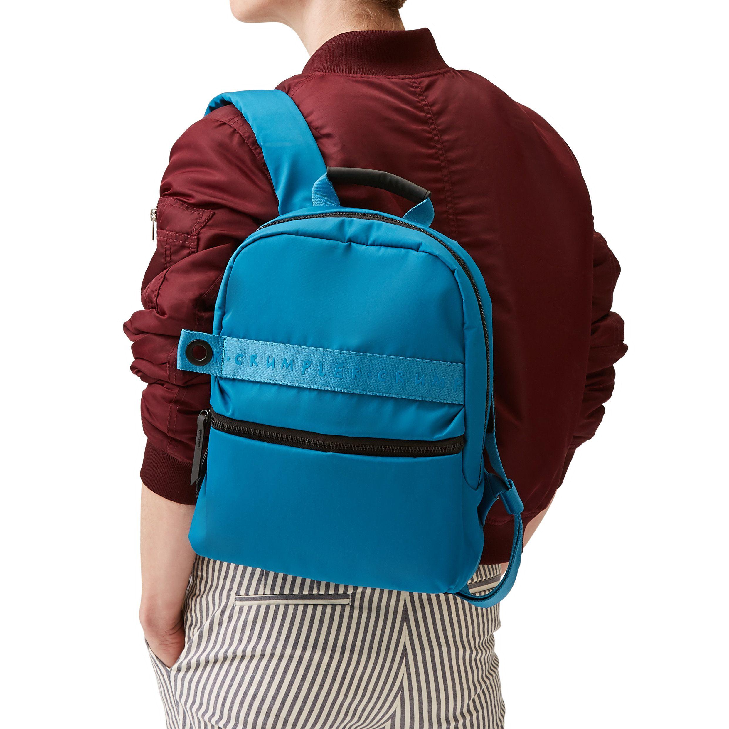 5f56676f3a The View Mini backpack in Niagra  backpacks  crumpler  bluebackpacks   bluebags  weatherproofbags