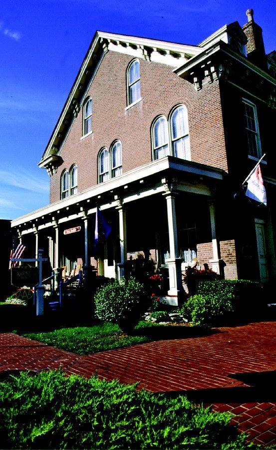 Kintner House Inn, downtown Corydon, IN Listed on National