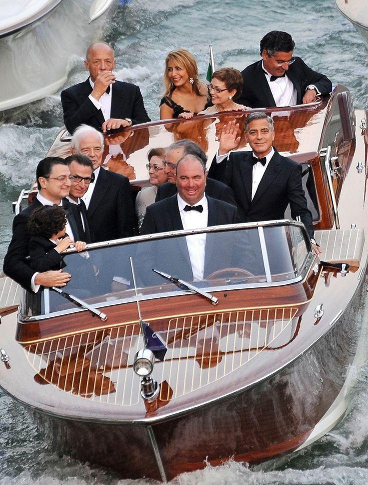Pin Von Maria Celia Santin Carballo Auf George Clooney Friend France Da Silva Holzboote Motorboote Bootsbau