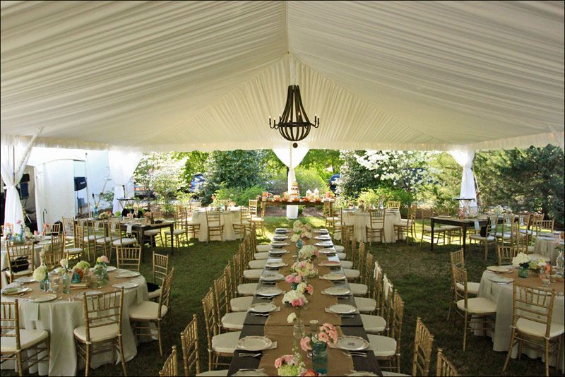30X60 Tent Layout With King Tables