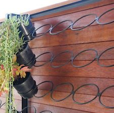 Vertical Garden Frame Large Size Holds 50 Pots Great For Balconies