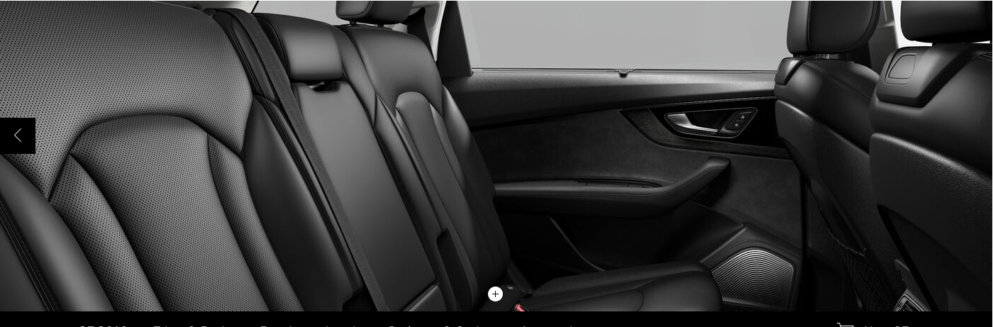 Audi Q7 Interior Audi Q7 Interior Audi Q7 Car Seats