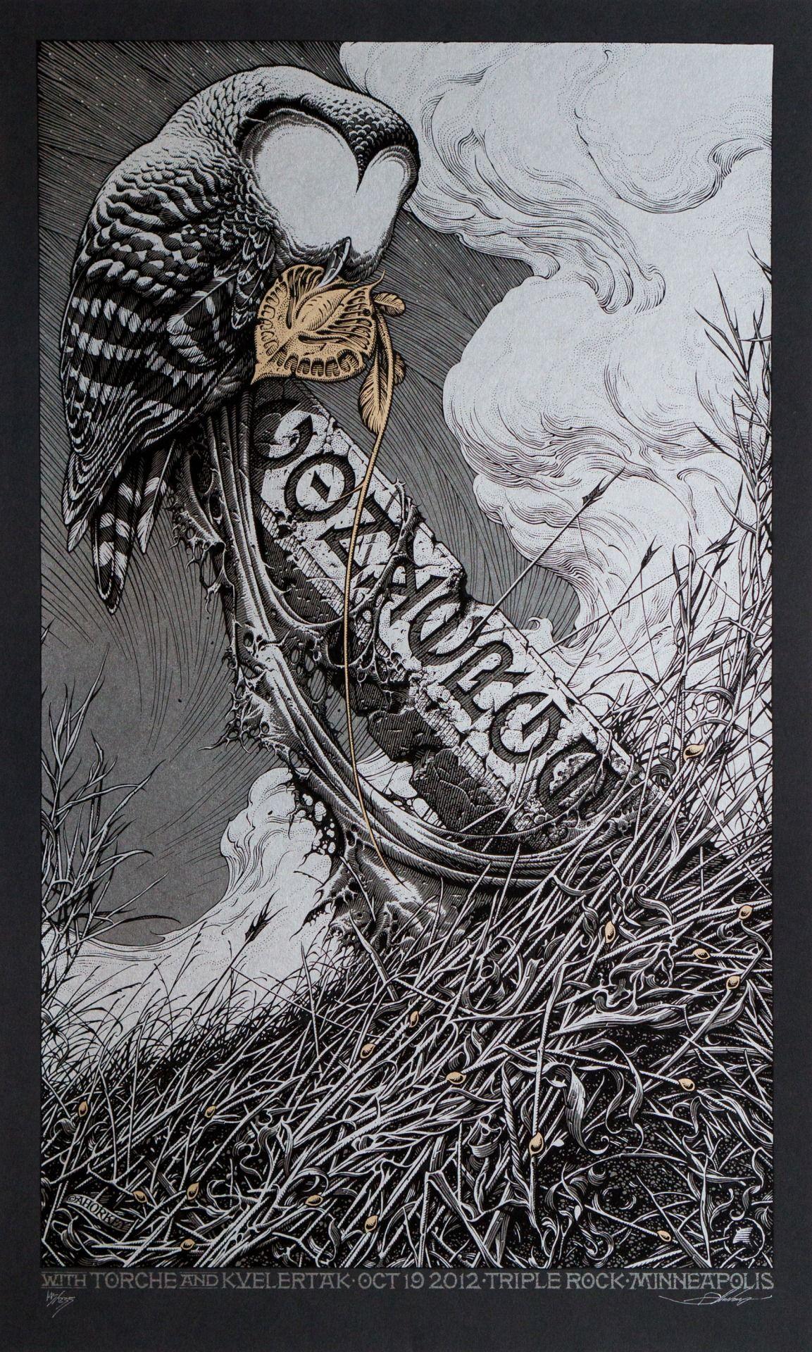 Aaron Horkey Illustrations