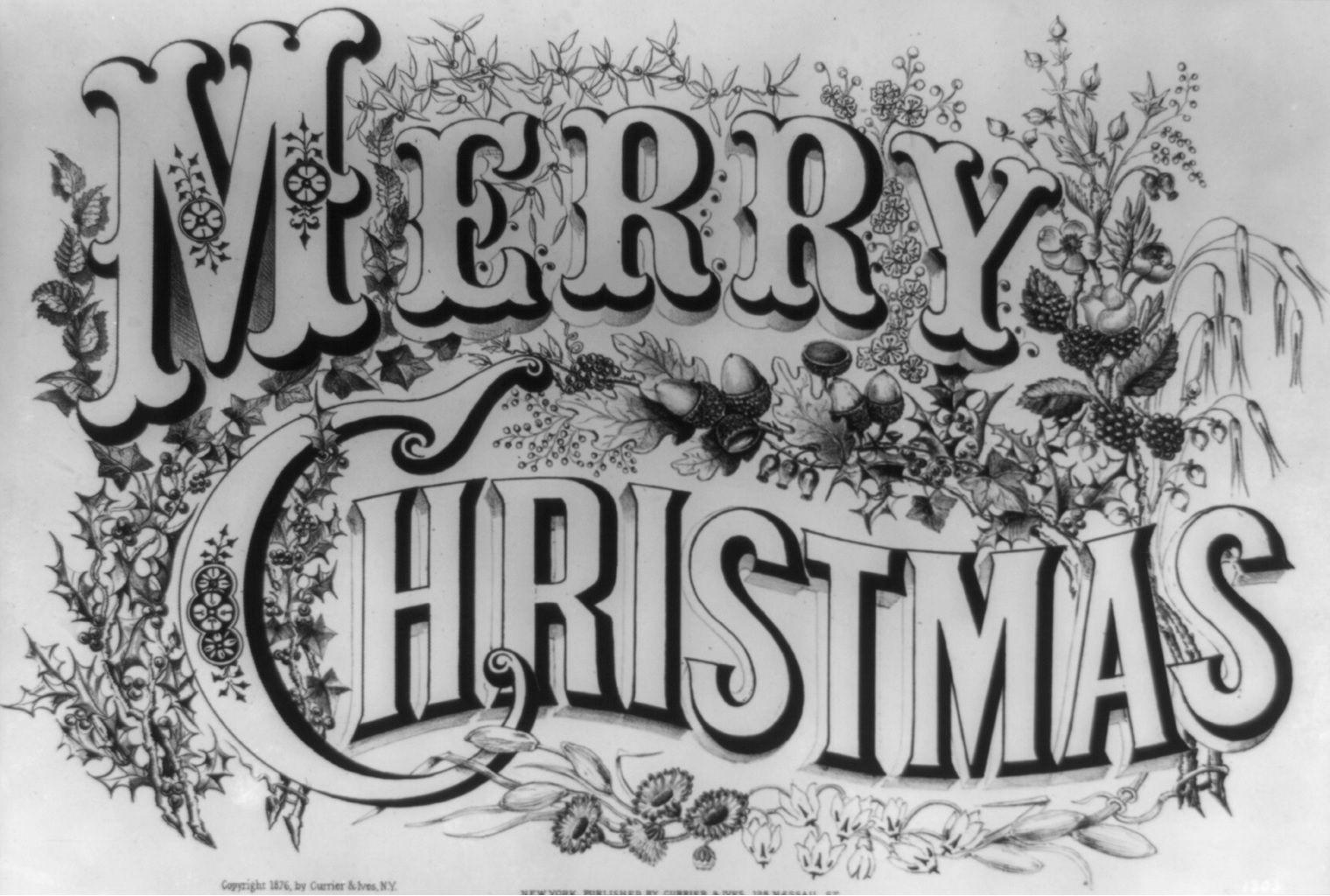 Beautiful Christmas font Merry christmas text, Christmas