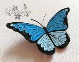 Photo of Quilled butterfly by pinterzsu on DeviantArt