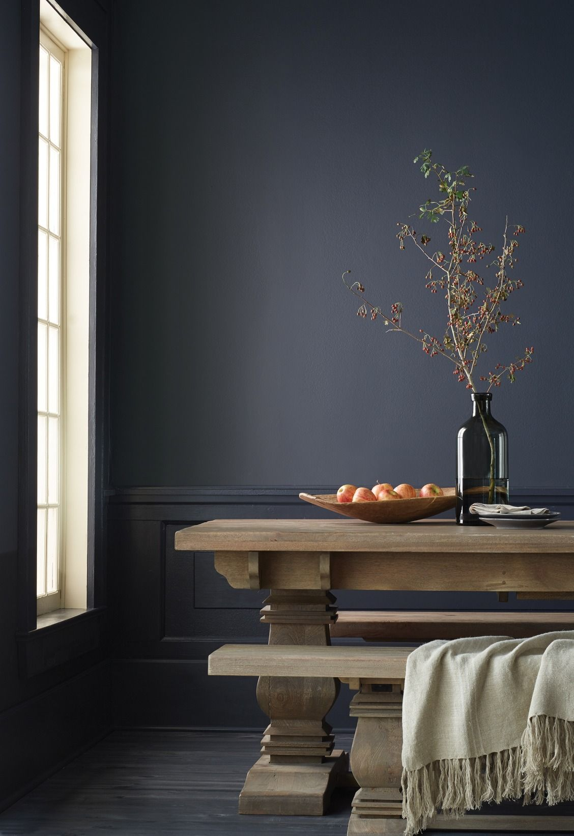 Our Aldridge Extendable Dining Table and Bench are the