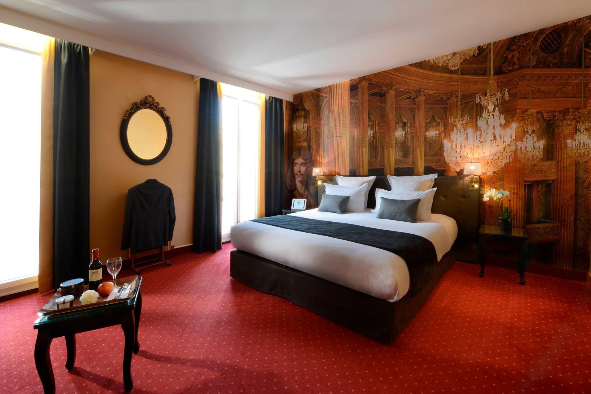Decoration Murale Pour Tete De Lit décoration murale pour l'hôtel le versailles****. changer le