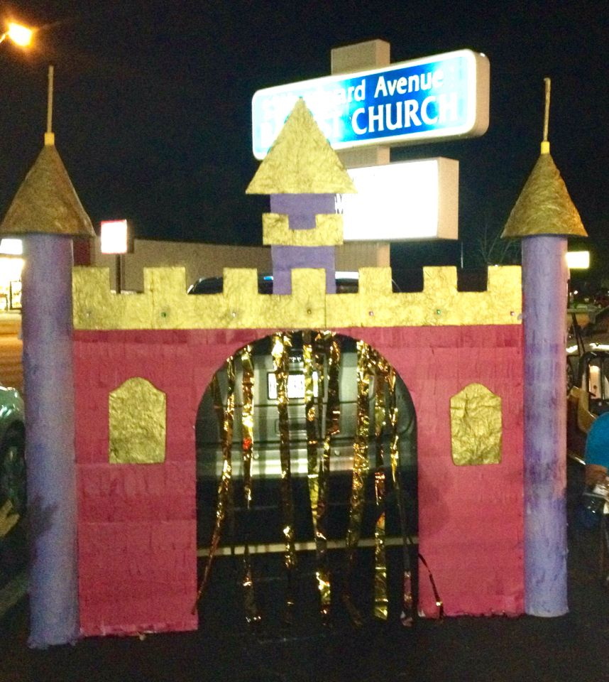 Trunk Or Treat. The Castle!