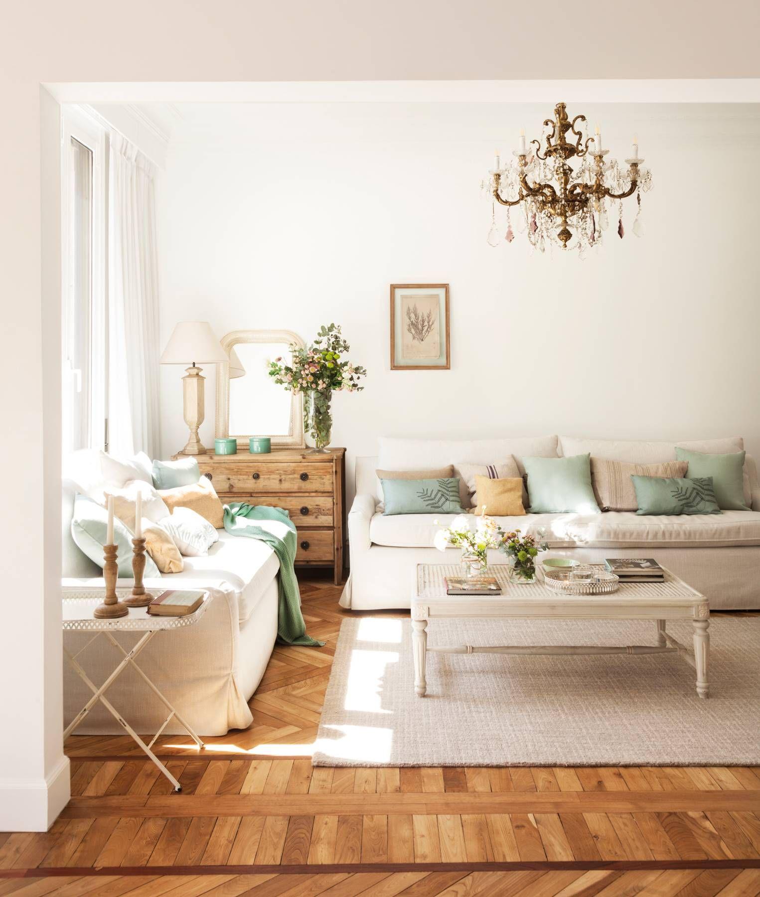 Las fotos de salones más pineadas de El Mueble en Pinterest