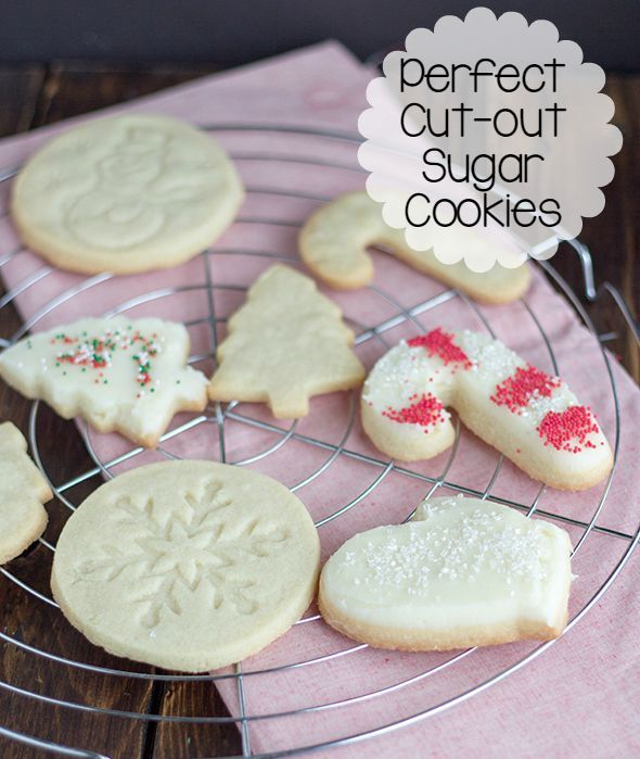 The Perfect Cut Out Sugar Cookies Cookie Dough Oven Mitt