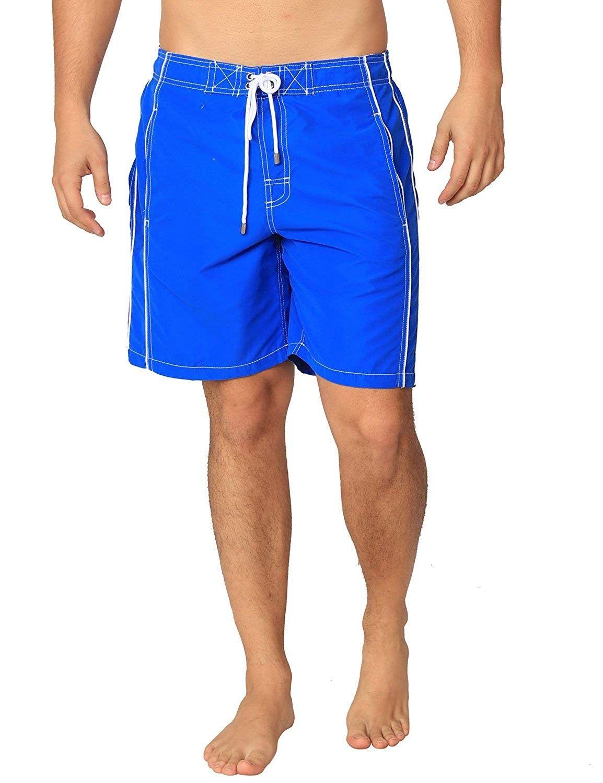 35023e9f37 Premium Men's Swim Trunks UPF 50+ Quick Dry Technology & 4 Way Stretch  Swimming Shorts - Royal - CW184KXDO73 - Boys' Clothing, Swim, Trunks #Trunks  #Boys' ...