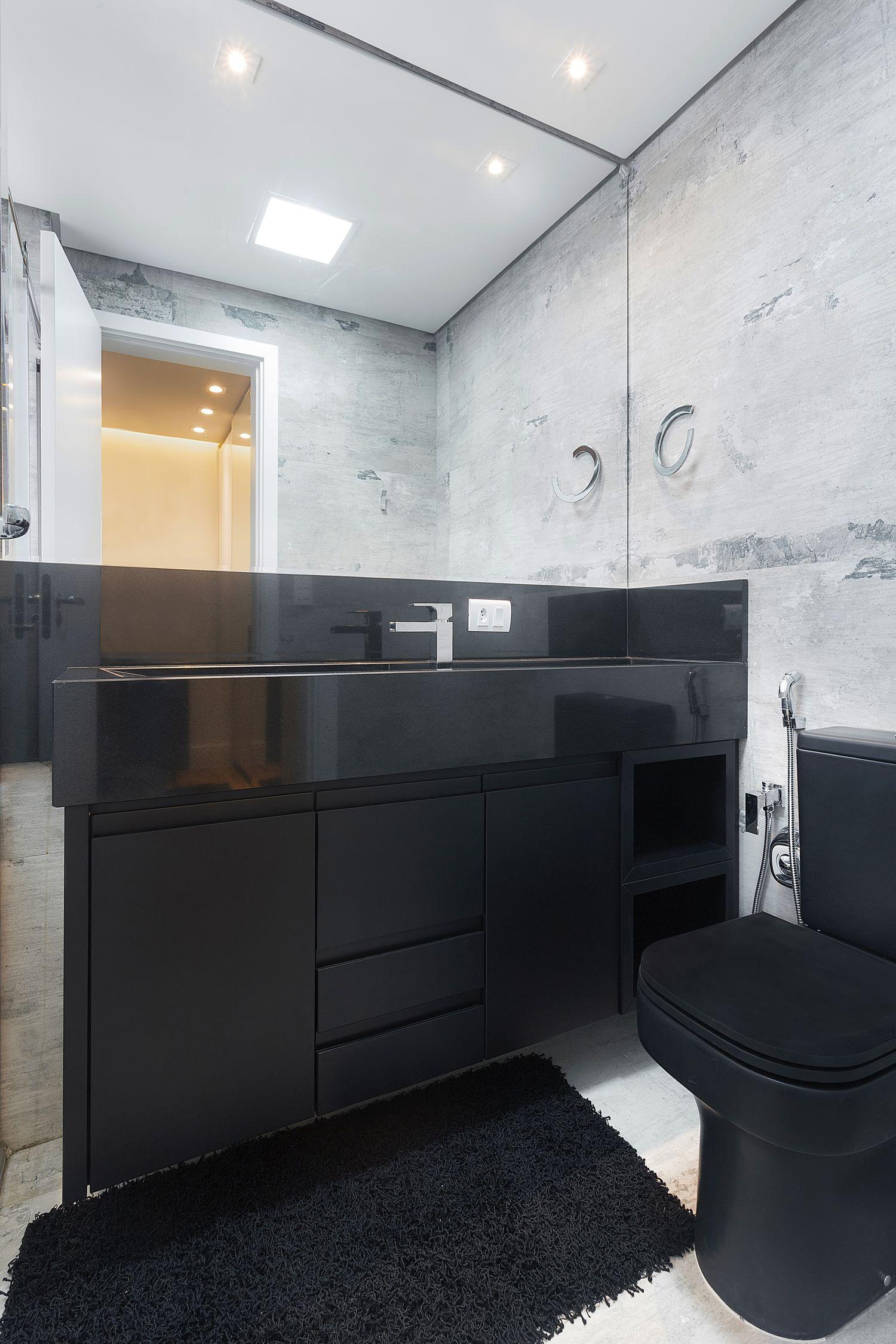 Banheiro  Produto Cerâmica Portinari  Olden HD Projeto Arquiteta Daniela  -> Banheiros Decorados Ceramica Portinari