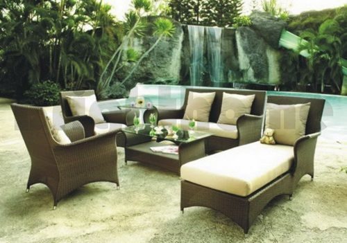 Outdoor Furniture And Backyard Wicker Furniture Modern Garden