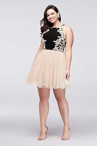 Women\'s Plus Size Dresses for All Occasions | David\'s Bridal | Short ...