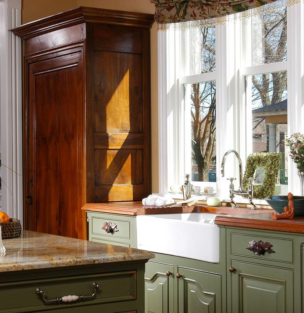 Like this color scheme for the Kitchen.