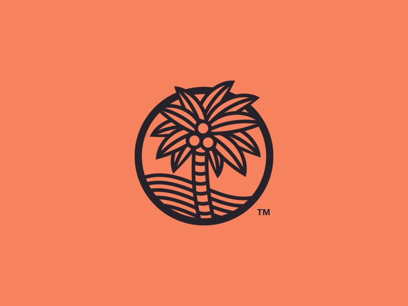 Palm Tree Concept Palm Logos And Tattoo
