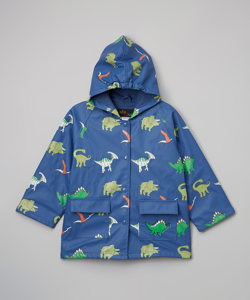 a713bd326ed1 Blue Dinosaurs Raincoat - Toddler   Boys
