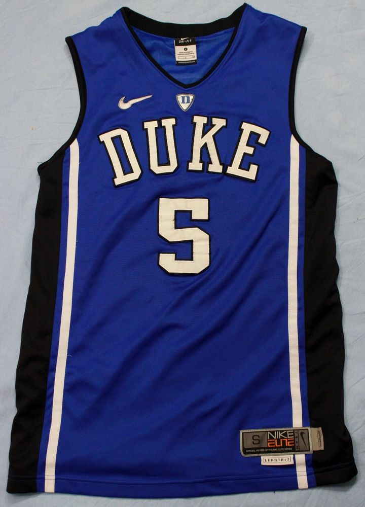 aa6aa859a54 Nike Elite Duke Blue Devils Basketball Jersey Luke Kennard #5 NCAA Dri Fit  Small #NikeElite #DukeBlueDevils