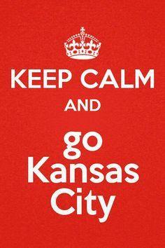Go Kansas City #Keepcalm #chiefs #Kansascity