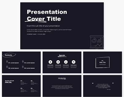 Check Out New Work On My Behance Profile Pitch Deck Free Powerpoint Template Google Slides Theme Ht In 2020 Google Slides Themes Powerpoint Templates Google Slides