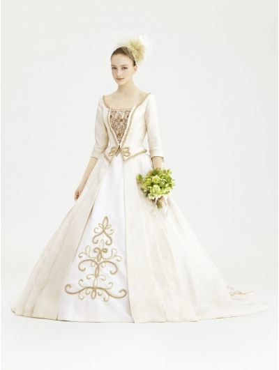 Royal Vintage Victorian Wedding Dress with Jacket   Modern & Vintage ...