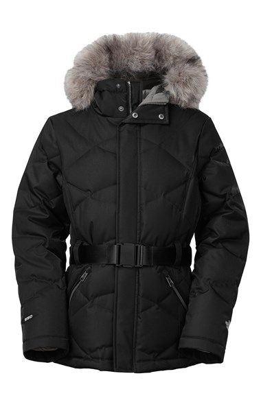 The North Face 'Metrolina' Hooded Coat (Little Girls) available at #Nordstrom