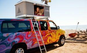 Up To 7 Day Camper Van Rental And Accessories For Two From Escape Campervans Pickup In Sf La Or Las Vegas Campervan Rental American Road Trip Camper Van