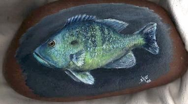Painted Rock - Art by Shar