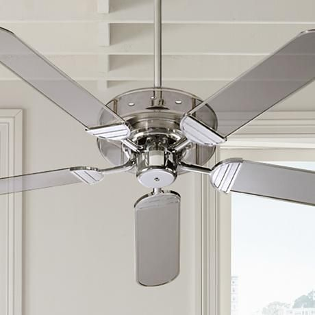 52 quorum prizzm acrylic and chrome ceiling fan new ranch 52 quorum prizzm acrylic and chrome ceiling fan aloadofball Image collections
